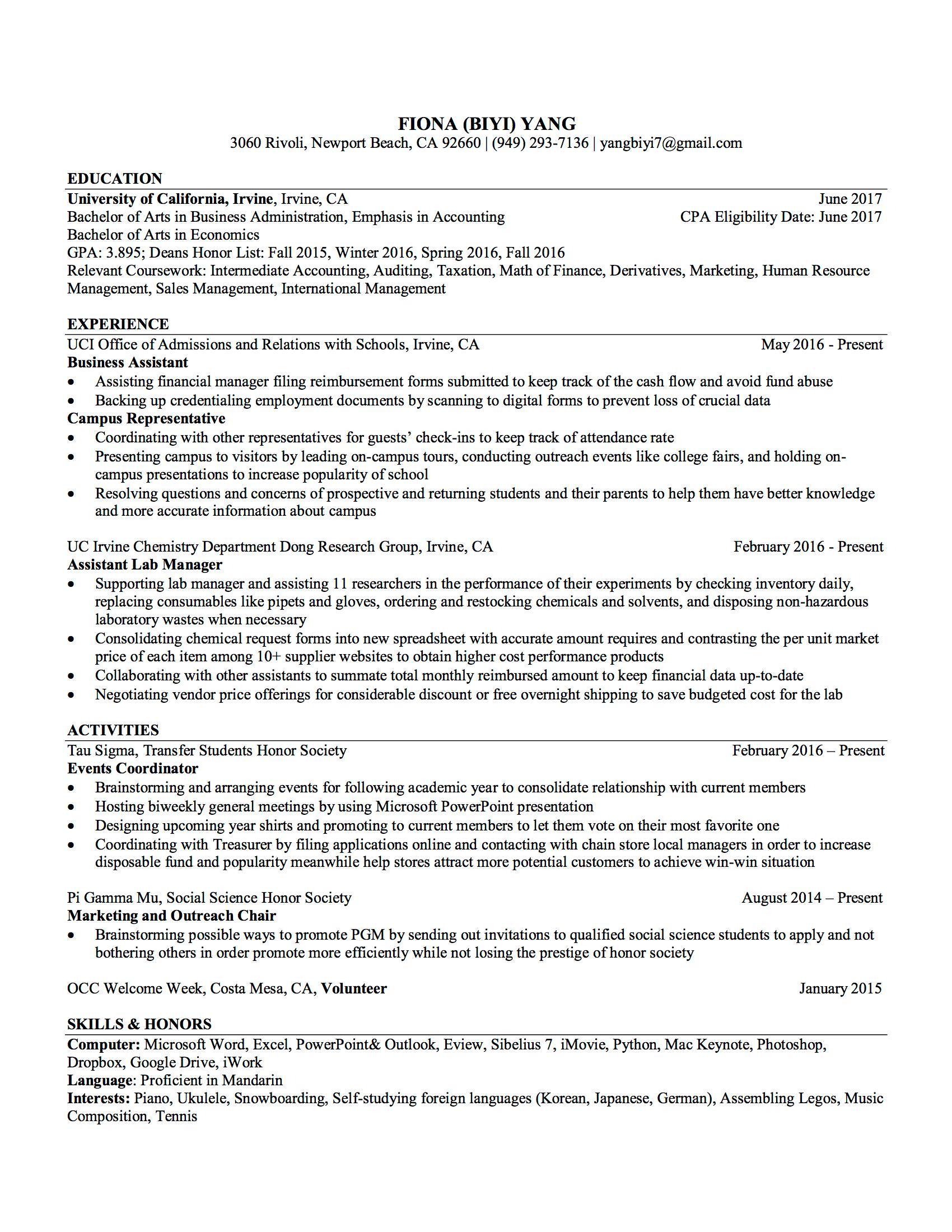 Yby Resume